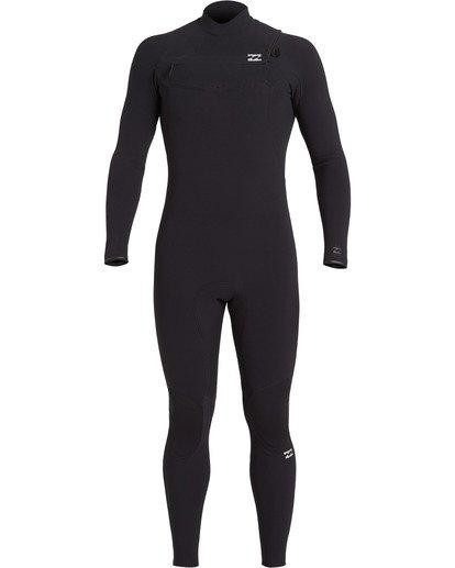 4 Furnace Comp 4/3mm GBS - Chest Zip Wetsuit for Men Black U44M52BIF0 Billabong