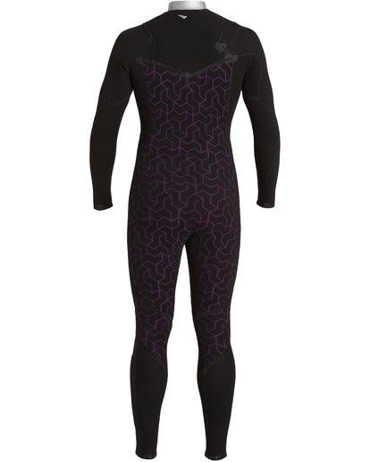 9 Furnace Comp 4/3mm GBS - Chest Zip Wetsuit for Men Black U44M52BIF0 Billabong