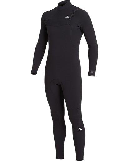 0 Furnace Comp 4/3mm GBS - Chest Zip Wetsuit for Men Black U44M52BIF0 Billabong