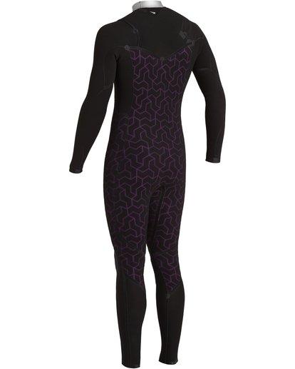8 Furnace Comp 4/3mm GBS - Chest Zip Wetsuit for Men Black U44M52BIF0 Billabong