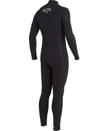 2 Furnace Comp 4/3mm GBS - Chest Zip Wetsuit for Men Black U44M52BIF0 Billabong