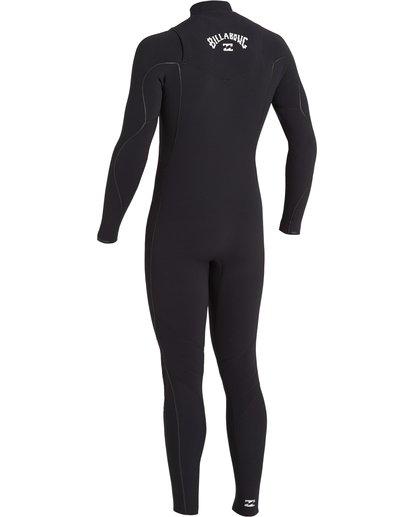 3 Furnace Comp 4/3mm GBS - Chest Zip Wetsuit for Men Black U44M52BIF0 Billabong