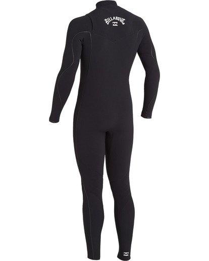 5 Furnace Comp 4/3mm GBS - Chest Zip Wetsuit for Men Black U44M52BIF0 Billabong