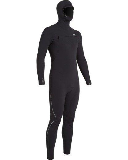 5 Furnace Carbon 4/3mm - Chest-Zip Neoprenanzug für Männer Schwarz U44M53BIF0 Billabong