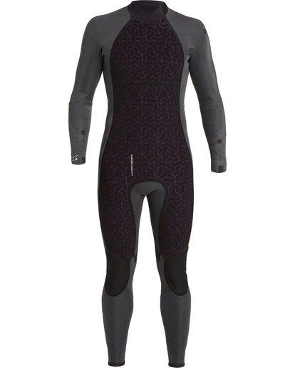 7 Absolute 4/3mm GBS - Back Zip Wetsuit for Men Blue U44M59BIF0 Billabong
