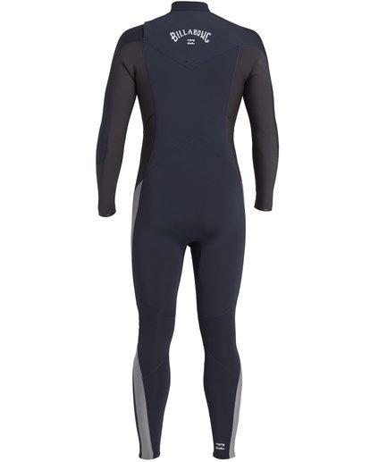 4 Absolute 4/3mm GBS - Chest Zip Wetsuit for Men Blue U44M60BIF0 Billabong
