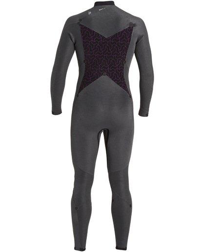 9 Absolute 4/3mm GBS - Chest Zip Wetsuit for Men Blue U44M60BIF0 Billabong