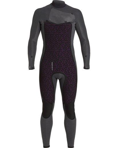 7 Absolute 4/3mm GBS - Chest Zip Wetsuit for Men Blue U44M60BIF0 Billabong