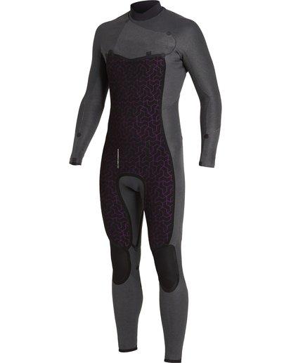 6 Absolute 4/3mm GBS - Chest Zip Wetsuit for Men Blue U44M60BIF0 Billabong