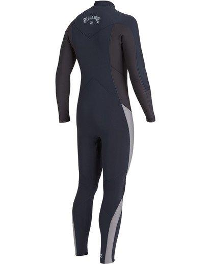 2 Absolute 4/3mm GBS - Chest Zip Wetsuit for Men Blue U44M60BIF0 Billabong