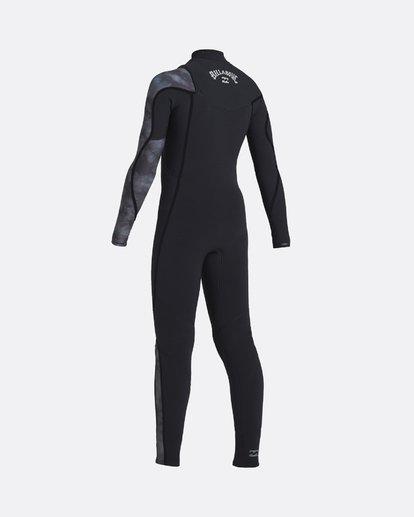 1 Furnace Carbon 5/4mm Comp GBS - Traje de surf con cremallera frontal para Chicos Negro U45B10BIF0 Billabong