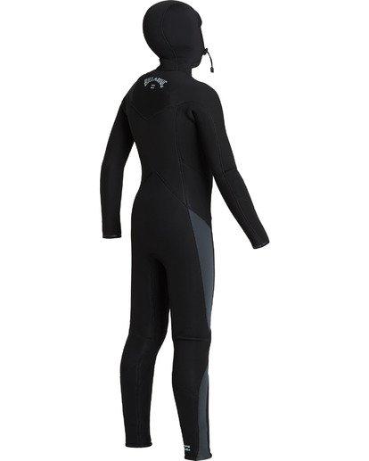 4 Absolute 5/4/3mm - Chest-Zip Neoprenanzug für Jungen Schwarz U45B91BIF0 Billabong