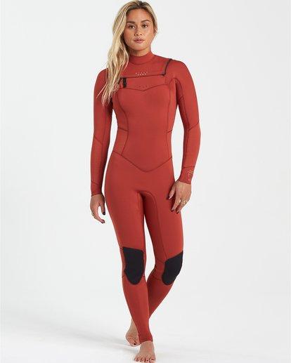 0 Surf Capsule 5/4mm Salty Dayz - Traje de surf para Mujer Marron U45G30BIF0 Billabong