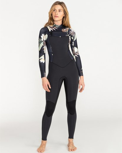Surf Capsule 5/4mm Salty Dayz - Wetsuit for Women  U45G30BIF0