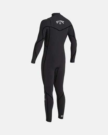 1 Furnace Carbon 5/4mm - Chest-Zip Neoprenanzug für Männer Schwarz U45M51BIF0 Billabong