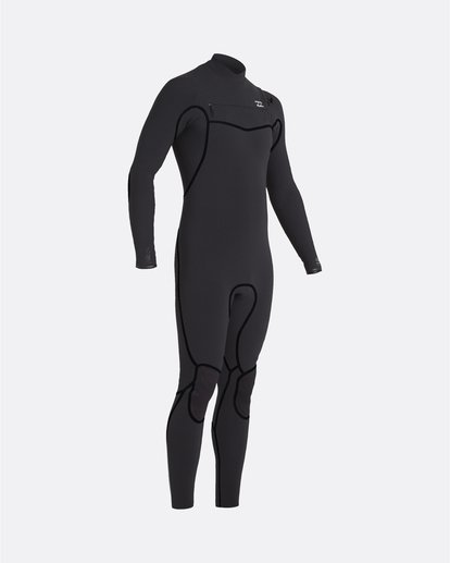 0 Furnace Carbon 5/4mm - Chest-Zip Neoprenanzug für Männer Schwarz U45M51BIF0 Billabong