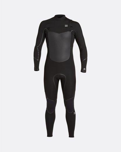 0 Absolute 5/4mm GBS - Traje de surf con cremallera frontal para Hombre Negro U45M56BIF0 Billabong