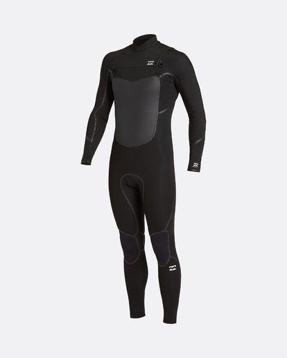 1 Absolute 5/4mm GBS - Traje de surf con cremallera frontal para Hombre Negro U45M56BIF0 Billabong