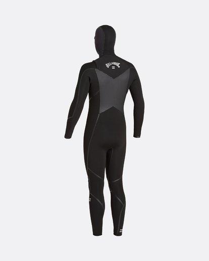 2 Absolute 5/4mm Hd GBS - Traje de surf con cremallera frontal para Hombre Negro U45M57BIF0 Billabong