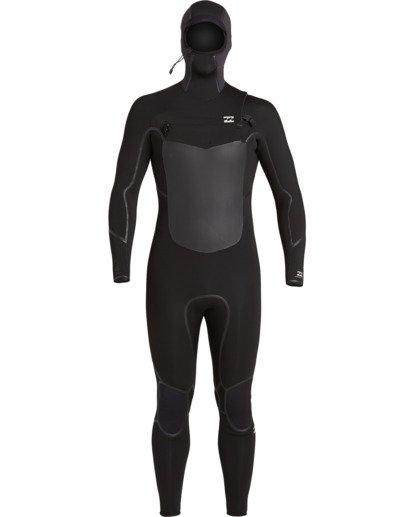 0 Absolute 5/4mm Hd GBS - Traje de surf con cremallera frontal para Hombre Negro U45M57BIF0 Billabong