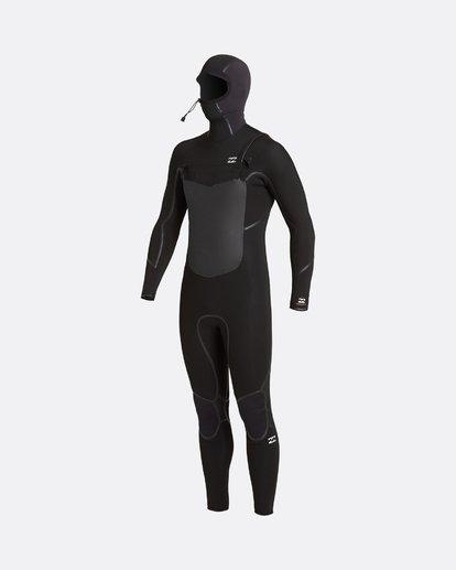 4 Absolute 5/4mm Hd GBS - Traje de surf con cremallera frontal para Hombre Negro U45M57BIF0 Billabong