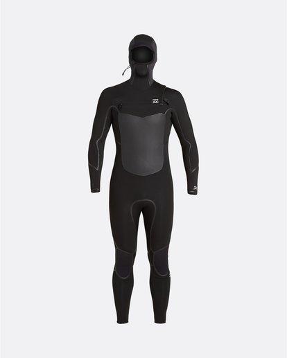1 Absolute 5/4mm - Chest Zip Wetsuit for Men Black U45M59BIF0 Billabong