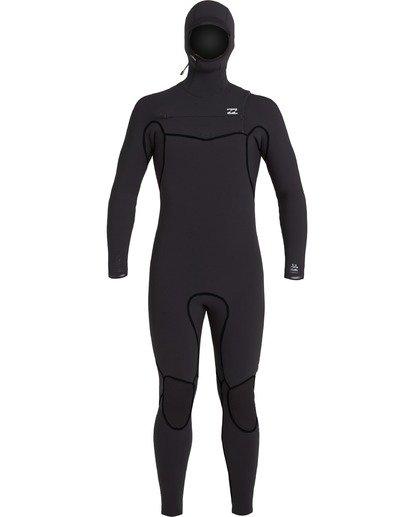 1 Furnace Carbon 605 - Neoprenanzug mit Kapuze für Männer Schwarz U46M50BIF0 Billabong