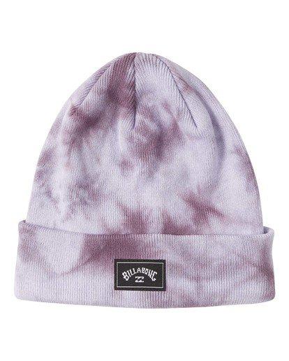 1 Dyed - Beanie for Men Purple U5BN30BIF0 Billabong