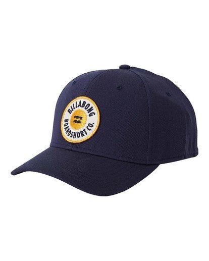 2 Walled Stretch - Kappe mit Stretch für Männer Blau U5CF03BIF0 Billabong
