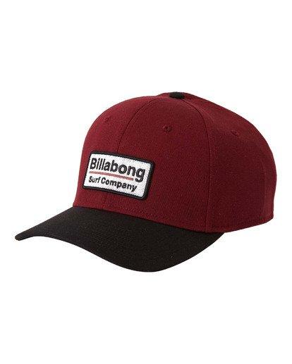 2 Walled Stretch - Stretch Cap for Men Red U5CF03BIF0 Billabong