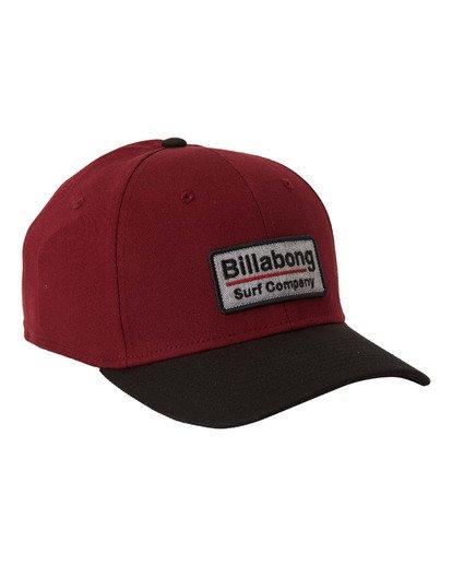 3 Walled Stretch - Stretch Cap for Men Red U5CF03BIF0 Billabong