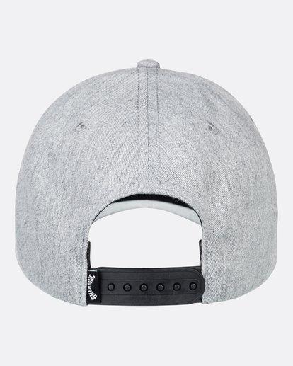 2 Arch - Snapback-Kappe für Männer Grau U5CM01BIF0 Billabong