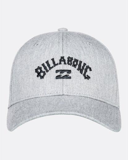 0 Arch - Snapback-Kappe für Männer Grau U5CM01BIF0 Billabong