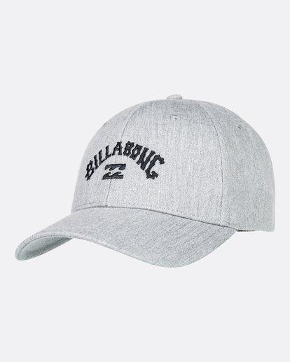 1 Arch - Snapback-Kappe für Männer Grau U5CM01BIF0 Billabong