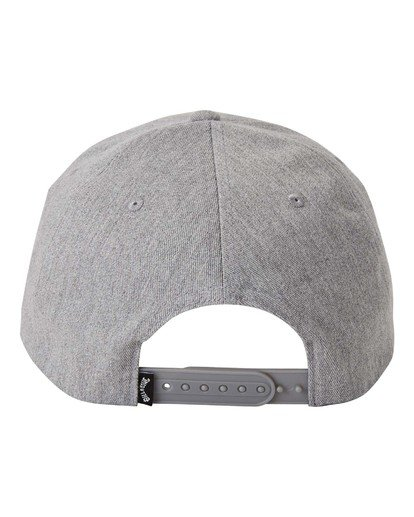 1 Walled - Snapback Cap for Men Grey U5CM02BIF0 Billabong