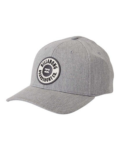 2 Walled - Snapback Cap for Men Grey U5CM02BIF0 Billabong