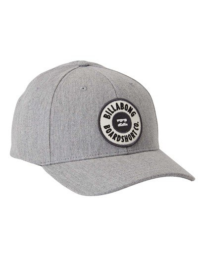 3 Walled - Snapback Cap for Men Grey U5CM02BIF0 Billabong