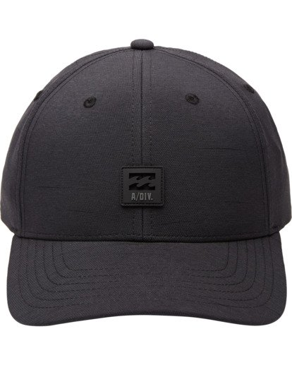 0 Adventure Division Collection Surftrek - Snapback-Kappe für Männer Schwarz U5CM13BIF0 Billabong