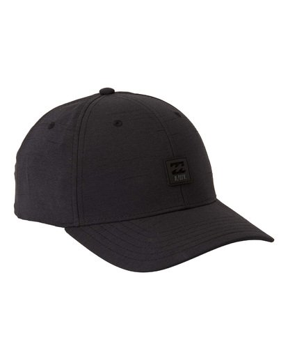 3 Adventure Division Collection Surftrek - Snapback-Kappe für Männer Schwarz U5CM13BIF0 Billabong