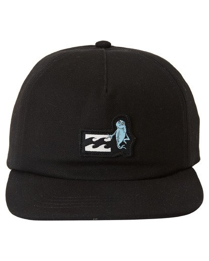 2 Dr Seuss 1Fish 2Fish - Snapback Cap for Men Black U5CM15BIF0 Billabong