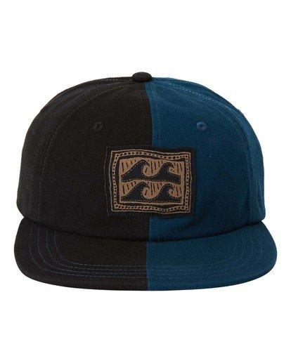 0 Wave Wash Halfrack - Snapback-Kappe für Männer Schwarz U5CM16BIF0 Billabong