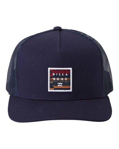 0 Stacked - Trucker Cap for Men Blue U5CT04BIF0 Billabong