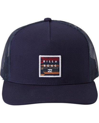 2 Stacked - Trucker Cap for Men Blue U5CT04BIF0 Billabong