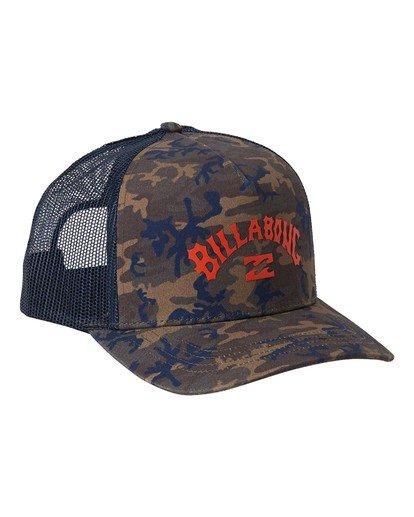 3 Arch - Trucker Cap for Men Camo U5CT05BIF0 Billabong