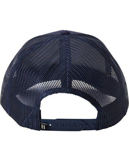 3 Adventure Division Collection Walled - Trucker Cap for Men Blue U5CT07BIF0 Billabong