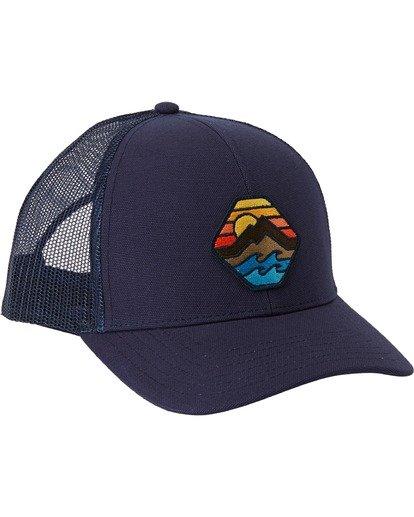 1 Adventure Division Collection Walled - Trucker Cap for Men Blue U5CT07BIF0 Billabong