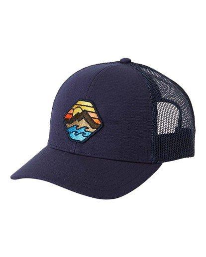 5 Adventure Division Collection Walled - Trucker Cap for Men Blue U5CT07BIF0 Billabong