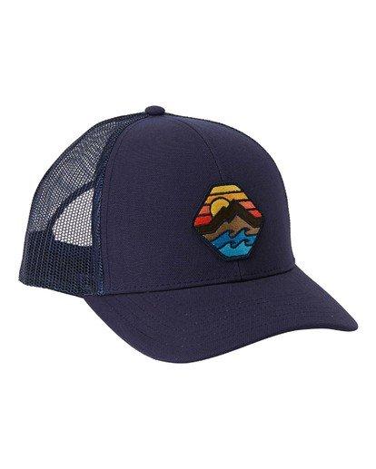 6 Adventure Division Collection Walled - Trucker Cap for Men Blue U5CT07BIF0 Billabong