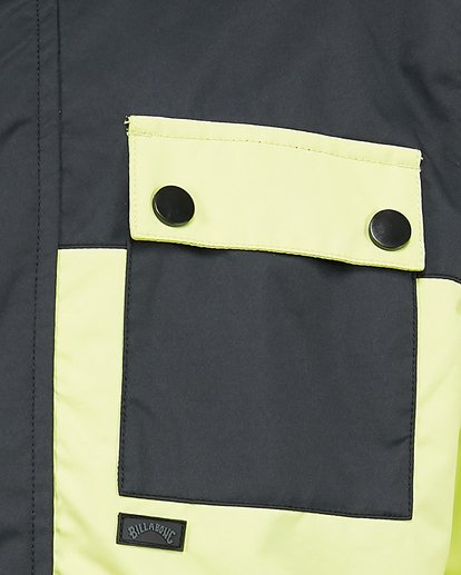 4 Boys 8-16 Arcade Jacket Green U6JB20S Billabong