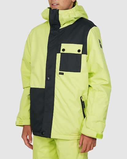 1 Boys 8-16 Arcade Jacket Green U6JB20S Billabong